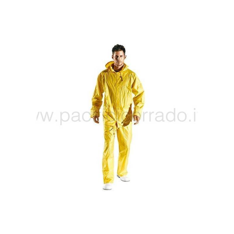 Completo cayenne in pvc impermeabile