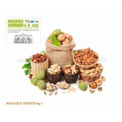 Nocciole tostate kg 1
