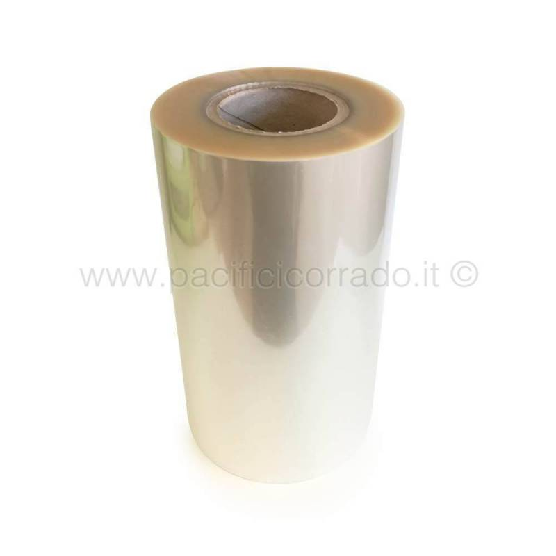 Film rotolo per termosigillatrici tipo pet/pp 12-50 mt 200 altezza cm 27