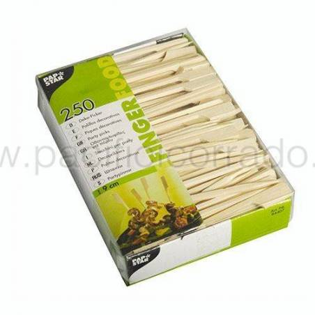 Stecchini per party bacchette 9 cm golf 250 pz PAPSTAR