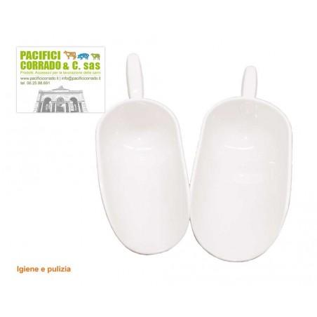 Tubi in plastica con ogive mm 140