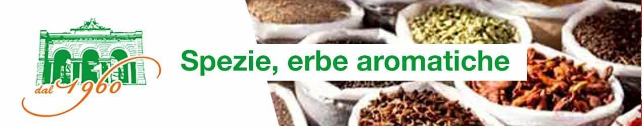 Spezie ed erbe aromatiche per condimenti