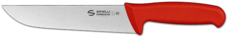 sanelli coltello linea supra francese da 20 cm manico rosso